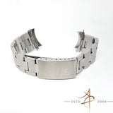 Rolex 19mm Thick Oyster Steel Bracelet 78350 H End Link 557