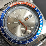 "Seiko Pogue ""World's First Automatic Chronograph"" Vintage Watch 6139-6002"