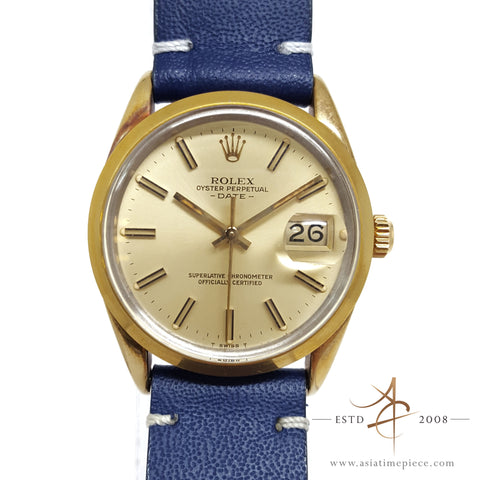 Rolex Date 15505 Oyster Perpetual Vintage Watch (1985)