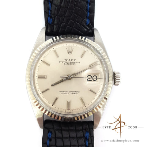 Rolex Datejust Oyster Perpetual Ref 1601 Vintage Watch (Year 1969)