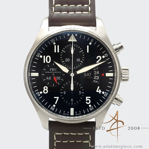 IWC Pilot Automatic Chronograph Ref IW 3777-01
