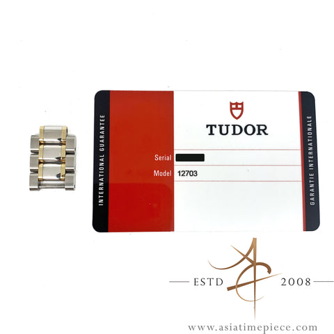 Tudor 18K Gold Steel 16mm Links for Tudor Style Ref 12703