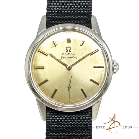 Omega Seamaster Small Second Winding Vintage Watch