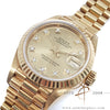 Rolex Datejust Ladies Ref 69178 Full 18k Gold Diamond Dial (1991)