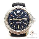Breitling Colt Automatic 41mm Dive Sport Watch A1731311 Mariner Black Dial (Full Set)