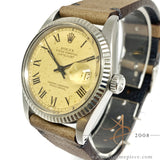 Rolex Datejust 16014 Buckley Dial Vintage Watch (1982)