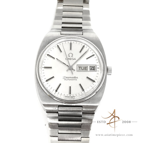 Omega Seamaster Day-date Automatic Vintage Watch