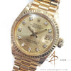 Rolex Datejust Ladies Ref 6917 Solid 18k Gold Vintage Watch (1979)