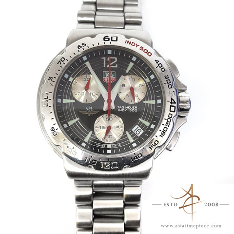 TAG Heuer CAC111B Indy 500 Formula One Watch Chronograph BLACK RED