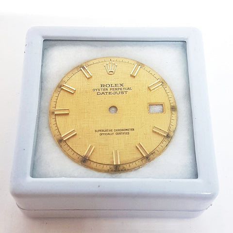 Rolex Vintage Datejust Pie Pan Wide Boy Dial Part (Ref 1600/01/03)