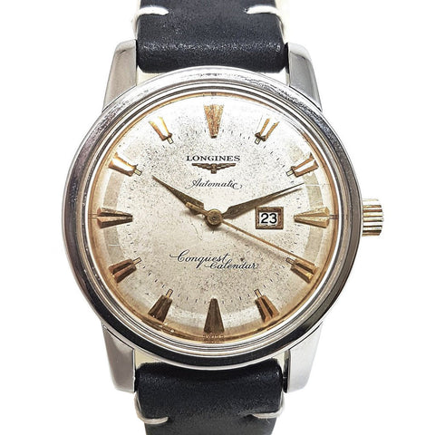 Longines Vintage Conquest Calendar Automatic Watch