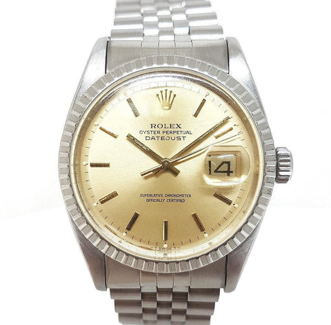 Rolex Vintage Oyster Perpetual Datejust 6605