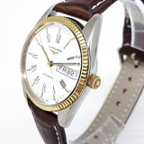 Longines Vintage Automatic Day Date Watch