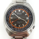Seiko World Time Vintage Watch Ref: 6117-6400