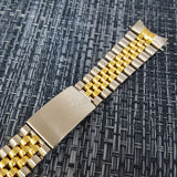 Rolex 20mm Two-tone Half Gold Jubilee Bracelet End Link 455