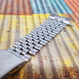 Rolex 20mm Jubilee Stainless Steel Bracelet  (Year circa 1971)