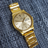 Omega Gold Plated Day-Date Vintage Watch