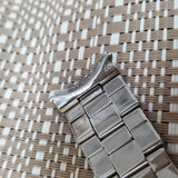 Rolex 7250 Riveted Oyster 19mm Steel Metal Bracelet