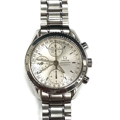 Omega Speedmaster Triple Date White 3523.80.00