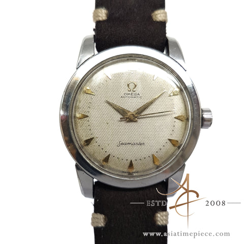 Omega Seamaster Bumper Automatic Vintage Watch Never Polished
