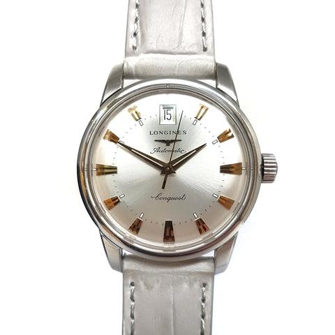 Longines Conquest White Automatic Watch L16114752