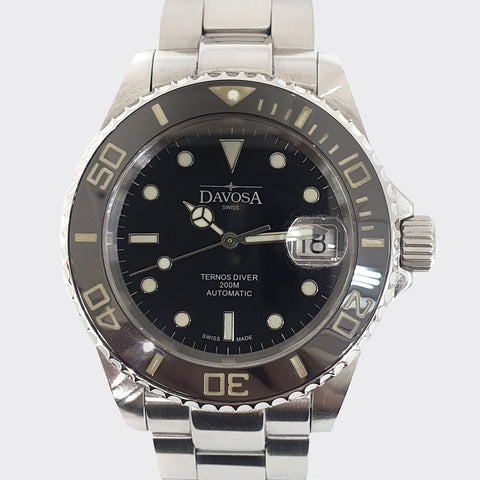 Davosa Ternos Diver 6666-2824 Ceramic bezel Automatic Watch