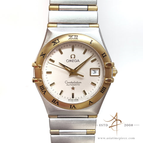 Omega Constellation Automatic Lady's Two-Tone Watch Ref 6551/863