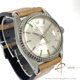 Rolex Datejust 1603 Silver Dial Vintage Watch (Year 1973)