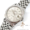 Rolex Datejust Ref 16234 Silver tapestry Dial Vintage Watch (1989)