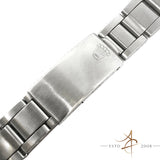 Rolex Thin 7835 Oyster Steel Metal Bracelet End Links 357 (Year 1972)
