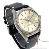 Rolex Datejust 16030 Cream Silver Dial Vintage Watch (Year 1983)