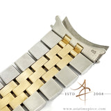 Rolex Jubilee 62523H 18K Gold Steel 20mm Bracelet End Links 455 (1989)