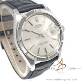 Rolex Date Ref 1501 Engine Turned Bezel Vintage Watch (1968)