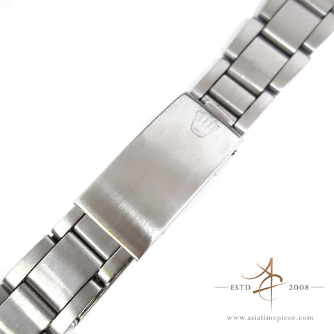 Rolex 19mm Thin Oyster Steel Metal Bracelet End link 357