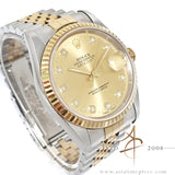 Rolex Datejust 16233 Diamond Champagne Dial (1995)