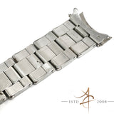Rolex Vintage Ref 7205 Rivet Oyster Steel 19mm Bracelet End Links 57 (Year 1970)