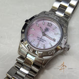 Tag Heuer Aquaracer Pink Mother of Pearl WAF1418