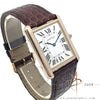 Cartier Tank Solo W5200025 3167 Rose Gold 18K Quartz