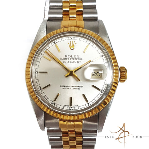 [Cert] Rolex Oyster Perpetual Datejust Ref 16013 Automatic (Year 1986)