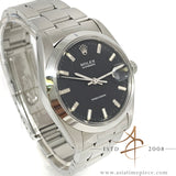 Rolex Oysterdate Precision Ref 6694 Dark Grey Dial Vintage Watch (Year 1981)