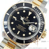 Rolex Submariner Date 16613 Black Tritium Dial 18k Yellow Gold (1990)