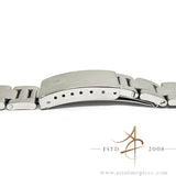 Rolex Oyster 78350 19mm Steel Bracelet End Link 557