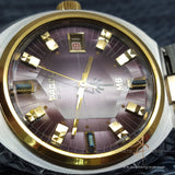Rare Purple Pagol Vintage Swiss Watch