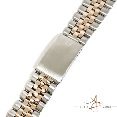 [Rare] Rolex 20mm Jubilee 14K Rose Gold 6252H Bracelet End Links 255