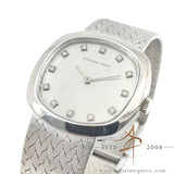 Audemars Piguet Ladies 18K White Gold Diamond Dial Watch