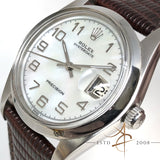 Rolex Vintage Oysterdate Precision Ref 6694 Custom Mother of Pearl Dial (Year 1975)