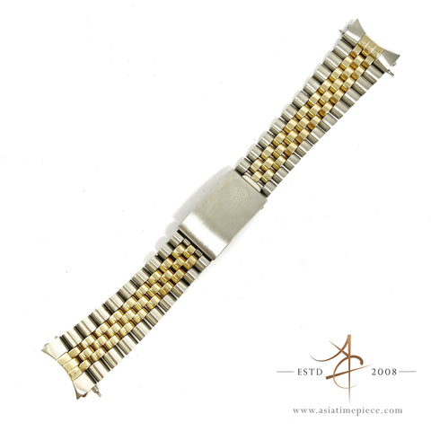 Rolex Jubilee 62523 Gold Steel 20mm Bracelet End Link 455
