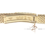 Rolex 18K Yellow Gold Ladies Bracelet 13mm