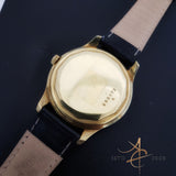 Jaeger Lecoultre 18k Gold Winding Vintage Watch