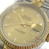 [Full Set] Rolex Datejust 16233 Diamond Champagne Dial (Year 1991)